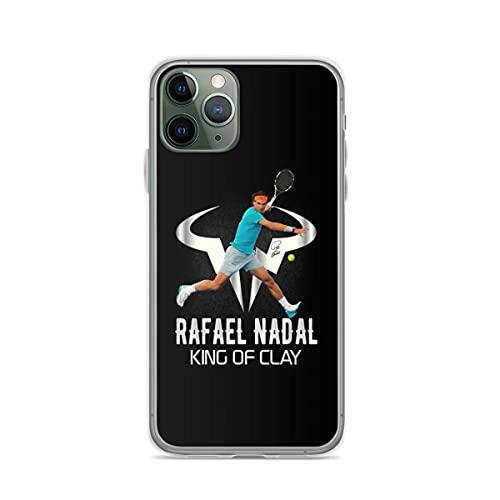 Compatibile con Samsung/iPhone 12/11/X/XR/7/Xiaomi Redmi 9A/Note 9/10/8 Pro Custodie Rafael Nadal King of Clay Custodie per Telefoni Cover
