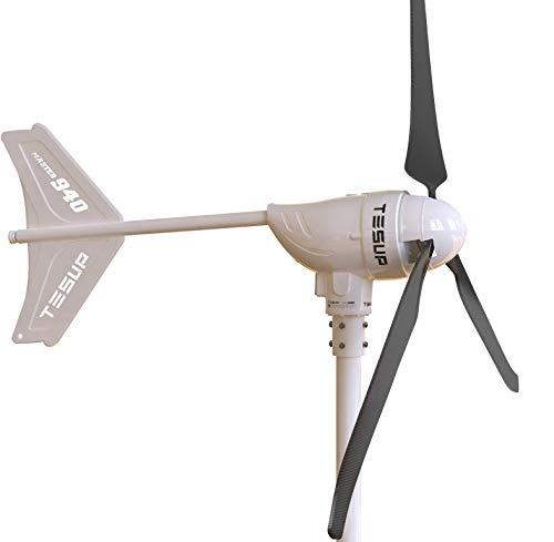 TESUP Master940 Windkraftanlage Kit - Hergestellt in Europa (48 V) // M940-48 + M940CC + M940MP