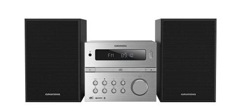 Grundig CMS 4200 Micro HiFi System, argento/nero