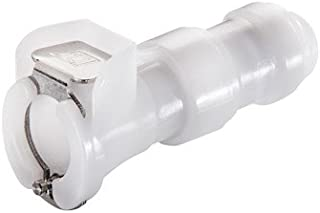 LinkTech 50AC Quick-Disconnect Fitting Insert 1//4 Hose Barb; 25//Pk Elbow w//o Valve