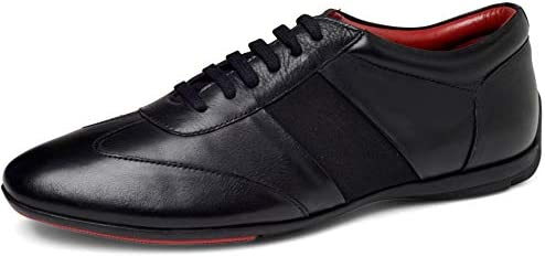 Carlos Santana Men s Fleetwood Low Top Fashion Leather Sneaker Comfort Shoes 13 Black product image