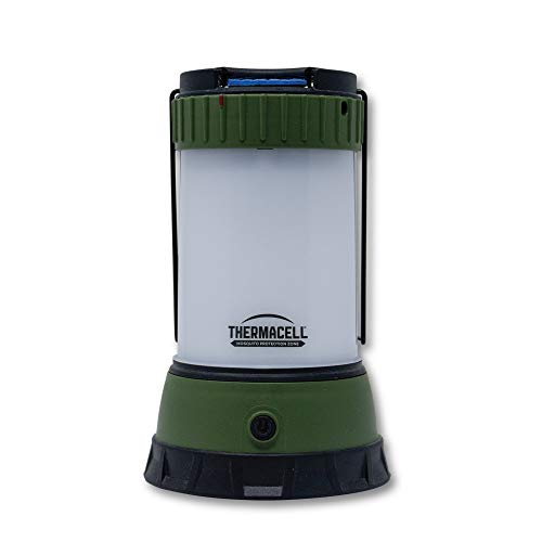 Thermacell Mosquito Repellent Scout LED Camping Lantern; Effective Mosquito Repellent for Camping; Includes 12-Hour Refill; No Spray, No Candle Flames, DEET-Free, Bug Spray Alternative