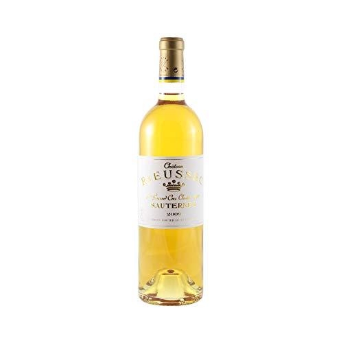 Château Rieussec Weißwein 2009 - g.U. Sauternes süßer - Bordeaux Frankreich - Rebsorte Sémillon, Sauvignon Blanc, Muscadelle - 75cl - 18,5/20 Jancis Robinson