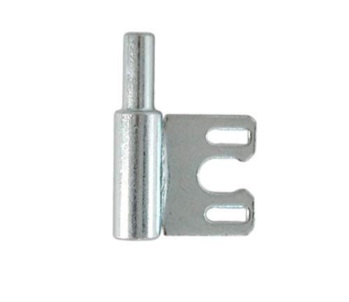 Rahmenteil Glastür Stahlzarge für 2-tlg. Türbänder Stahl verzinkt (Rt. für 2-tlg. Stahlzarge Bänder)