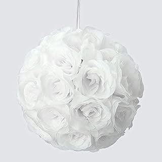 white kissing ball