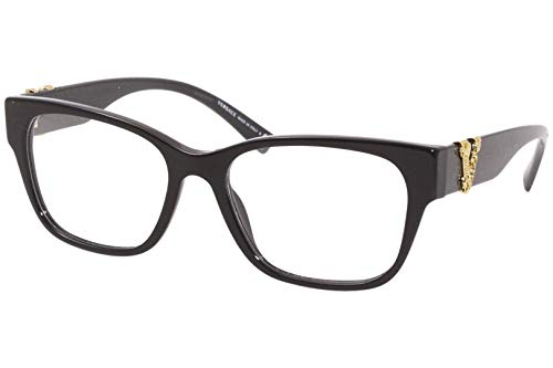 Versace Occhiali da Vista VIRTUS VE 3283 Black 54/17/140 donna