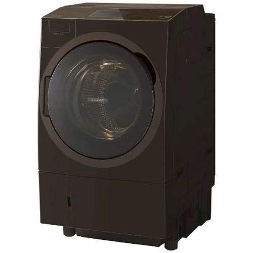東芝 (T) ドラム式洗濯乾燥機(洗濯12kg/乾燥7kg・左開き) (グレインブラウン) TW-127X8L-T