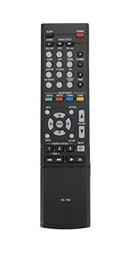 Vinabty RC-1168 Ersatz-Fernbedienung, kompatibel mit De-non AVR-X1100W AVR-X1200W AVR-S500BT AVR-X1300W AVR-1613 AVR-1713 AV-Receiver
