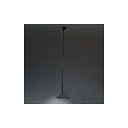 Artemide – Lampe à suspension Artemide agrégé Gris foncé Diamètre 380 mm cône métal