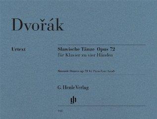 Slawische Taenze op 72 - arrangiert für Klavier 4händig [Noten / Sheetmusic] Komponist: Dvorak Antonin