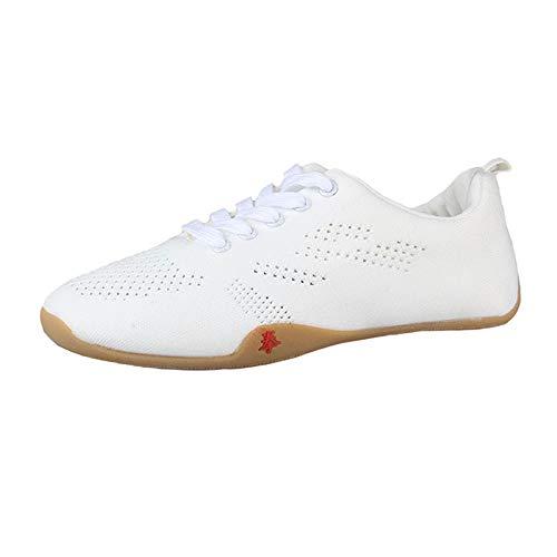 FJJLOVE Zapatos de Artes Marciales, Zapatos de Tai-Chi Zapatillas de Deporte de...