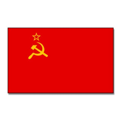 Flaggenking UdSSR Sowjetunion Flagge/Fahne - wetterfest, mehrfarbig, 150 x 90 x 1 cm