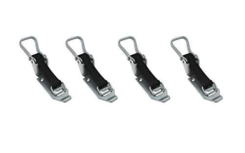 LOADCARE 4X Verschlusslager 80mm Schaufelhalter Spatenhalter Axthalter Besenhalter