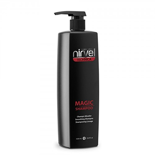 NIRVEL Magic Shampoo 1000ML, Negro, 1L
