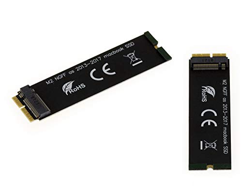KALEA INFORMATIQUE - Adaptador M2 Replacement for Mac 2015 2016 2017 2018 12+16 pin NVMe SSD