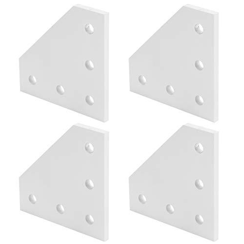 Placa de unión, placa de conexión, placa de refuerzo, herramienta de conexión en ángulo recto para impresora 3D para la industria de la construcción(2020L type)
