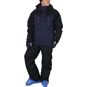 PONTAPES(ポンタぺス) スキーウェア 上下セット ストレッチ 全13色 メンズ レディース 6サイズ 耐水圧15,000mm POSKI-128 POSKI-ST2(ST-39*ST-99) Sサイズ スノーウェア スノボウェア スキー ウェア ウエア 20-21 ジャケット パンツ 滑雪服
