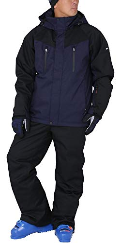 PONTAPES(ポンタぺス) スキーウェア 上下セット ストレッチ 全13色 メンズ レディース 6サイズ 耐水圧15,00...