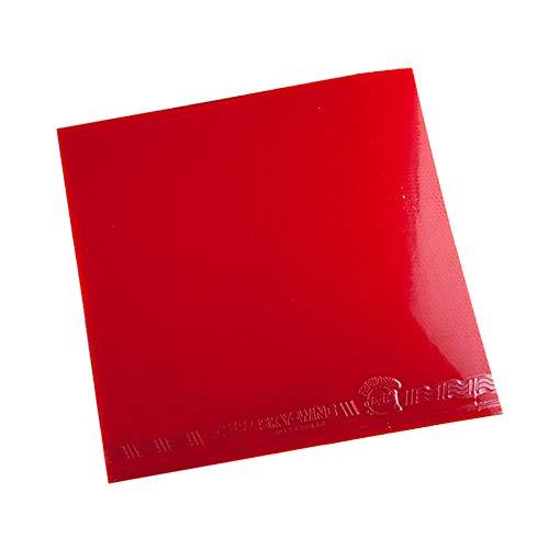 Y-H - Funda de goma antiadhesivo para tenis de mesa, color rojo