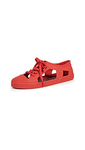 Melissa Women's x Vivienne Westwood Brighton Sneakers, Red, 6 Medium US