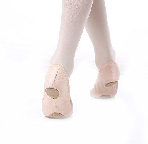 Dux Dance Ballet Shoes - Stretch Canvas Ballet Shoe Split Sole Slipper
