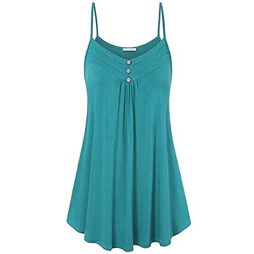 WDYHSNL Frühling und Sommer Damenbekleidung Lose sexy sexy einfarbige Unterhemd mit V-Ausschnitt Große Größe Nähen lässig Top Kurze Ärmel