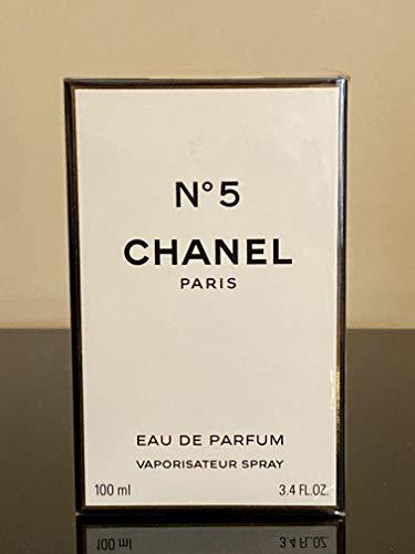 Chanel N°5 Eau De Parfum Spray for Women, 3.4 Ounce, Multi