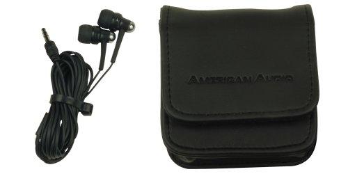 American Audio Ear Bud eb-900auricolari in-ear 88dB/adattatore jack 6.3mm/3m Wire
