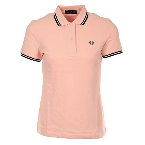 Fred Perry Twin Tipped Shirt Wn's Cherry Blossom, Polo