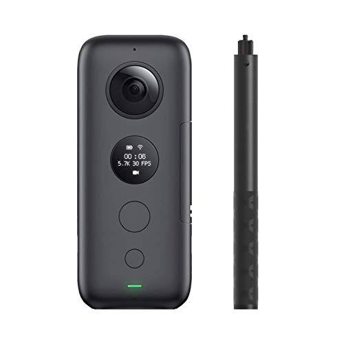 ZYJANO Action Camera One X Sport Action Camera 5.7K Video VR 360 voor iPhone en Android