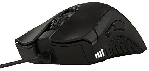 Gigabyte XM300 USB Optisch 6400DPI Schwarz rechts - Mäuse (USB, Spielen, Pressed Buttons, Reifen, Optisch, Kabel)