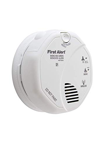 First Alert SCO500B (Series SCO500) ONELINK Battery Operated Combination Smoke and Carbon Monoxide Alarm with Voice Location *2-Pack*