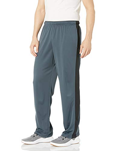 Hanes Men's Sport X-Temp Performance Training Pant with Pockets, Stealth/Black, M