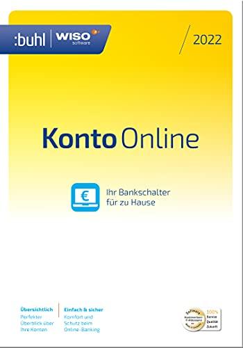 WISO Konto Online 2022 2022 1 Gerät 1 Jahr PC Disc Disc