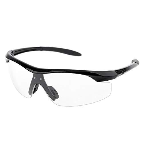 Gafas de lupa con luz protectora, gafas protectoras de repuesto, gafas de protección, gafas de repuesto para Dental Loupe lámpara de luz con agujeros para tornillos Dedepeng, color negro 140*170*40mm