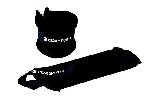 COR SPORT Polsiera Cavigliera Chiusura con Velcro Zavorra Peso 4 kg Paio per Palestra Fitness
