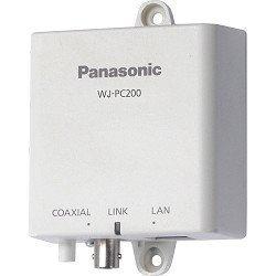 WJ-PC200E PANASONIC, camera-eind-unit eenvoudige omzetting van analoog naar IP-systeem met coaxkabel