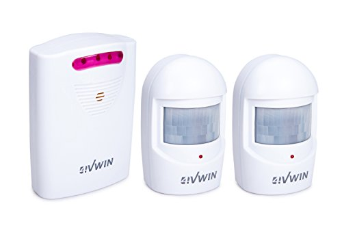 4VWIN driveway alarm provides a convenient and economic way to alert you the moment when someone is approaching your home