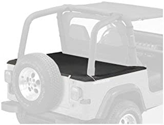 Bestop 90010-15 Black Denim Duster Deck Cover for 1992-1995 Wrangler with Hardtop Removed (Includes New Tailgate bar, Retainer Clips)