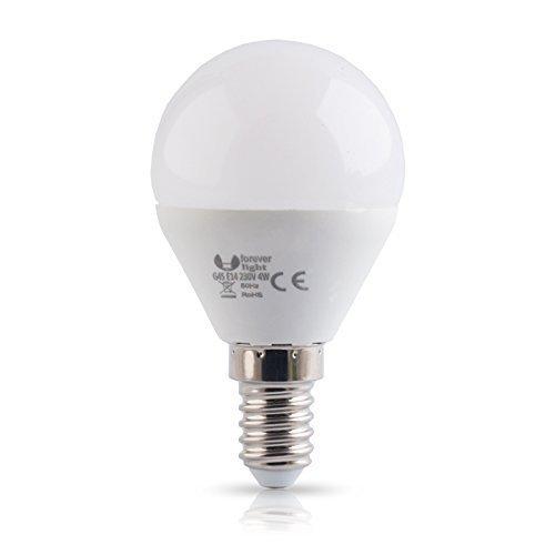 E14 4W chaud froid blanc neutre forme sphérique - blanc chaud, 2x Stück