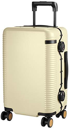 [エース トーキョー] スーツケース 日本製 ウォッシュボードF 双輪ストッパー付 機内持ち込み可 35L 50 cm 4kg 砥粉イエロー