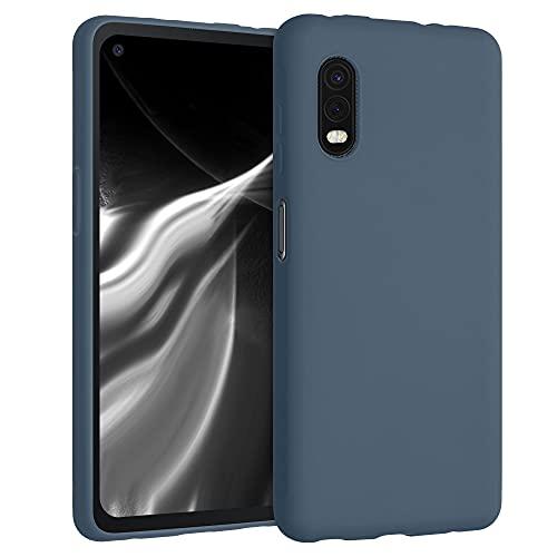 kwmobile Hülle kompatibel mit Samsung Galaxy Xcover Pro - Hülle Silikon - Soft Handyhülle - Handy Hülle in Slate Gray