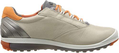 Ecco Damen Women's Golf Biom HYBRID 2 Golfschuhe, Beige (57864OYESTER/ORANGE), 37 EU