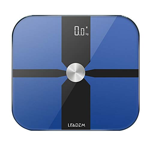 Review Of 180kg/100g ITO Film Electrode Plate Bluetooth Scale Fat Scale Blue