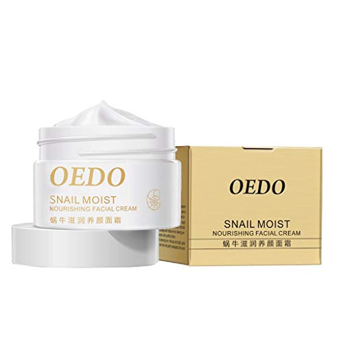 dailymall Femmes Escargot Moist Cream Lifting Anti-Aging Moisturizing Beauty