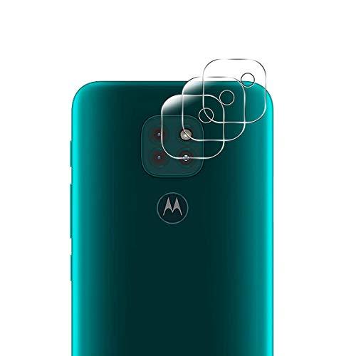 Aerku Cámara Trasera Lente Protector de Pantalla para Motorola Moto G9 Play [3 Piezas], HD Sin Burbujas Cristal Templado Cámara Protector para Motorola Moto G9 Play[Transparente]