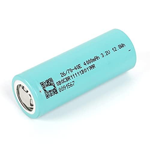 1pcs 3.2v 26700 Lithium-Ionen 4000mah Akku, für Elektrische Fahrradkamera Taschenlampe Smart Charger Projektor