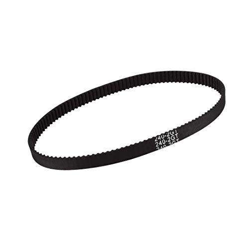 GT2 Timing Belt 240 mm Closed Fit Synchronous Wheel for 3D Printer