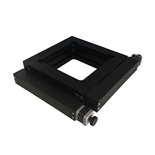 Ochoos PT-XY100 XY Motorized Microscope Stage Electric XY Integral Combinating Platform 100mm Travel Linear Stage
