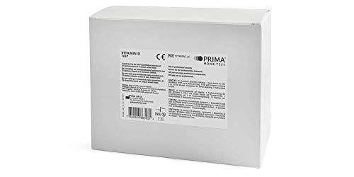 PRIMA Home Test - Vitamin-D Test (10 Tests) - Für den Professionellen Gebrauch